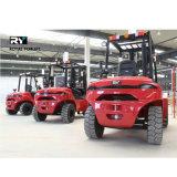 2WD de ruwe Vorkheftruck van het Terrein 5.0 Ton met Ce- Certificaat