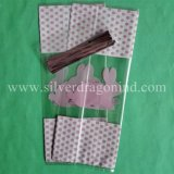 Цветастые мешки конфеты PP с связями закрутки