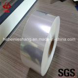 Material de embalagem 18 Micron BOPP Metalized Film Flex Film