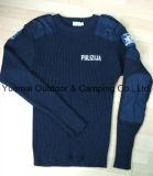 Пуловер военно-морского флота армии высокого качества в шерстях