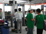 24 zonas arco detector de metales para los Juegos Olímpicos de Pekín.