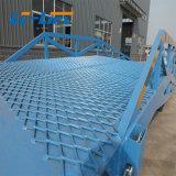 8 ton rampas do pátio móvel para contentor de carga móvel rampas para veículo