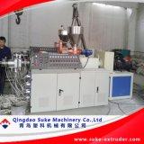 Tubo de drenagem de PVC a máquina de extrusão