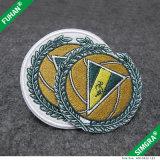 100% poliéster personalizados Bordados Patches para vestuário