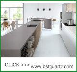 Конкретная искусственная каменная верхняя часть кухни камня кварца