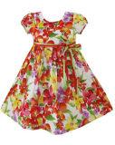 Robe de filles fleur Parti Sundress Halloween Kids clothes Size 2-10