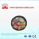 Cable de transmisión flexible de cobre subterráneamente aislado del cable de Electricalelectric