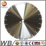 La circular del diamante de la soldadura de laser vio el disco del corte del diamante de la lámina para el concreto del corte