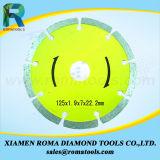 "Romatools 4 "" diamante pequeno viu as lâminas 7 dos segmentos das lâminas """