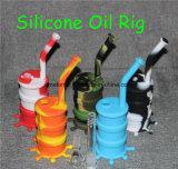 Pipe de fumage d'équipement de TAPE de baril d'huile de silicone de catégorie comestible de 8 pouces