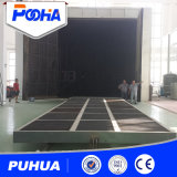 Снимок Puhua Постепенное расплющивание стенд для очистки деталей