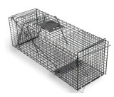 Cage de piège à chat féroce, cage de piège à écureuil, cage de piège à animaux en soudure, cage de piège en lapin galvanisé