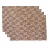 Isolation classique d'armure de jacquard Placemat tissé par textile antidérapant pour la maison et le restaurant