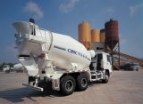 Shacman 340HP 6cbmのセメントの具体的な混合のトラック