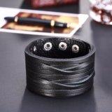 Europa-und Amerika-Hotsale Form-Leder-Armband für Männer oder Frauen