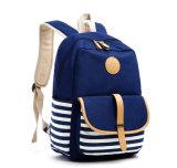 O cosmético do Tote das senhoras do portátil da compra da escola da lona do curso ensaca o saco funcional da trouxa unisex