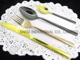 Fourchette et couteau en acier inoxydable Ustensiles défini