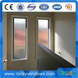 Скалистый деревянные арочные окна алюминиевые неподвижного стекла
