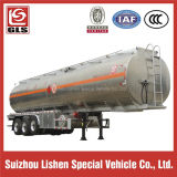 Grain Transportation를 위한 세 배 Axle 49cbm Bulk Powder Tank Semi Trailer