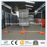 Decorative construction Site Using Outdoor Temporary Fence, Galvanized Wire Mesh