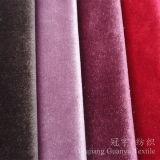 Tissu brillant décoratif de polyester de textile de maison d'ouatine pour le sofa