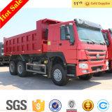 트럭 Sinotruck HOWO 371HP 쓰레기꾼 트럭 팁 주는 사람 트럭