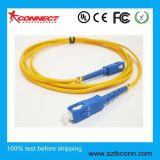 Cable de conexión de fibra óptica SC proveedor chino
