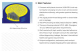 Ultrafiltration-hohle Faser-Membrane für uF-Gerät (AQU-90)