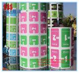 Papel impreso de papel de aluminio para los trapos de la pista y del alcohol de la preparación del alcohol