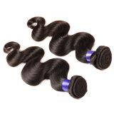 Cabelo malaio da onda do corpo do Weave malaio não processado malaio do cabelo humano do cabelo 100% do Virgin da onda 3PCS 7A do corpo