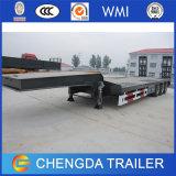 80ton ladend Aanhangwagen van de Vrachtwagen van het Bed van 4 As de Lage die in China wordt gemaakt