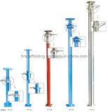 Surpportの鋼鉄足場、鋼鉄調節可能な支柱