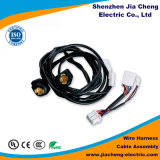Cable con el equipamiento médico del harness del alambre del control del conector