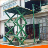 Elevador de tesoura hidráulica Pesado Tabela para transporte de carga do armazém