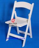 Blanco de la silla plegable de resina