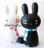 Hübsches Kaninchen-Vinylspielzeug für Kinder haben Spaß