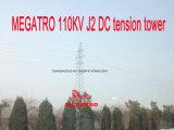Torretta di tensionamento di CC di Megatro 110kv J2