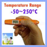 Dt8250 C/F zwei Modi IR-Temperatur-Feder-Minitaschen-nicht Kontakt-Infrarot-Thermometer