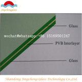 , 명확한, 5.38-16.76mm 청동색 회색, F 녹색 PVB 안전 박판으로 만들어진 유리