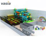 Drôle de question projet Complexe fantastique avec terrain de jeux intérieur Trampoline