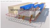 Ligne de revêtement en poudre industrielle Autoamtic