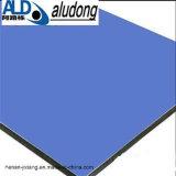 Польза панели озера голубая алюминиевая составная для украшать фронт магазина
