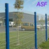 Poste de dépliement de frontière de sécurité de frontière de sécurité de maillage de soudure