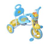 Triciclo semplice del bambino di disegno bello con musica