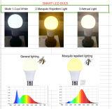 9W E27 repelente de mosquitos lámpara LED