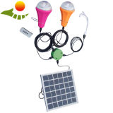 Il CE ha approvato una lampada solare delle 2 lampadine/casa che mobile il CE solare portatile della lampada ha approvato una lampada solare delle 2 lampadine, lampada solare portatile del caricatore della casa mobile del caricatore