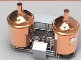 rote kupferne 400L Fassbier-Maschine für das Pub-Brauen