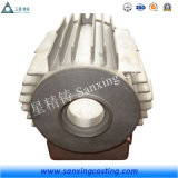 Отливка песка утюга OEM используемая снабжением жилищем мотора