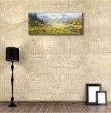 Le paysage vallonné dans la peinture à l'huile