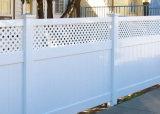 PVC Pricacy clôture avec haut Lattice (DY002)
